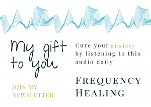 cure anxiety, free frequency healing audio download, join newsletter