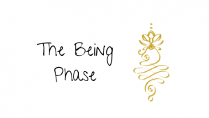 The Being Phase - Unalome Enlightenment Symbol