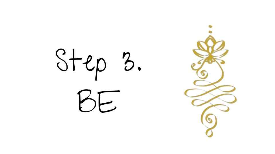 steps to enlightenment -be